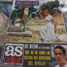 Coleccionismo deportivo: AS COLOR Nª 65 ( 15/8/1972) GENTO CUENTA SU VIDA CAP.4. Lote 39312348