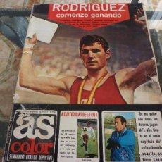 Coleccionismo deportivo: AS COLOR Nª 67 ( 29/8/1972) GENTO CUENTA SU VIDA CAP.6. Lote 39312545