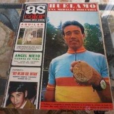Coleccionismo deportivo: AS COLOR Nª 69 ( 12/9/1972) LIGA REAL MADRID=GIJON. Lote 39312818
