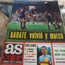 Coleccionismo deportivo: AS COLOR Nª 82 ( 12/12/1972) LIGA BARCELONA=AT.MADRID. Lote 39314021