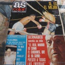 Coleccionismo deportivo: AS COLOR Nª 84 ( 26/12/1972) S.BERNABEU CUENTA SU VIDA CAP. 1.. Lote 39314294
