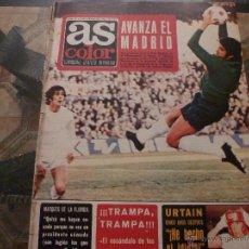 Coleccionismo deportivo: AS COLOR Nª 91 ( 13/2/1973) LIGA AT.MADRID=REAL MADRID. Lote 39316537