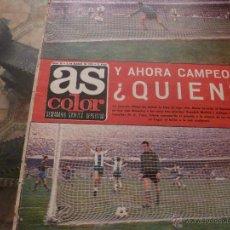 Coleccionismo deportivo: AS COLOR Nª 94 ( 6/3/1973) LIGA BARCELONA 0=ESPAÑOL 1. Lote 39316714