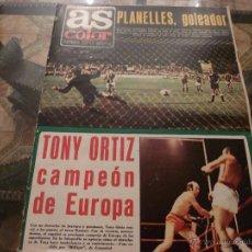 Coleccionismo deportivo: AS COLOR Nª 109 ( 19/6/1973) LA COPA,PLANELLES GOLEADOR. Lote 39325964
