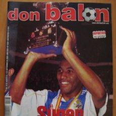 Coleccionismo deportivo: REVISTA DON BALON DEPORTIVO DE LA CORUÑA CAMPEON SUPERCOPA DE ESPAÑA 2000. Lote 39410474