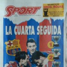 Coleccionismo deportivo: EDICION ESPECIAL DIARIO SPORT BARÇA CAMPEON LIGA 93/94 - POSTER FC BARCELONA 1993/1994 - . Lote 39491202