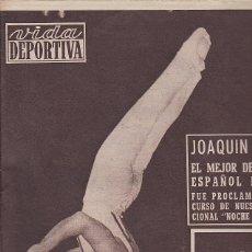 Coleccionismo deportivo: REVISTA VIDA DEPORTIVA 14-01-1957. Lote 39489033