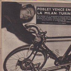 Coleccionismo deportivo: REVISTA VIDA DEPORTIVA 11-03-1957. Lote 39489044