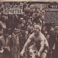 Coleccionismo deportivo: REVISTA VIDA DEPORTIVA 25-3-1957. Lote 39489127