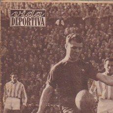 Coleccionismo deportivo: REVISTA VIDA DEPORTIVA 7-1-1957. Lote 39489158