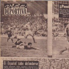Coleccionismo deportivo: REVISTA VIDA DEPORTIVA 29-12-58. Lote 39489357
