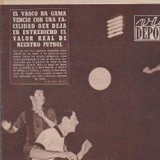 Coleccionismo deportivo: REVISTA VIDA DEPORTIVA 24-6-1957. Lote 39492108