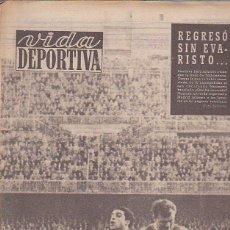 Coleccionismo deportivo: REVISTA VIDA DEPORTIVA 4-3-1957. Lote 39492161