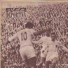Coleccionismo deportivo: REVISTA VIDA DEPORTIVA 25-2-57. Lote 39492179