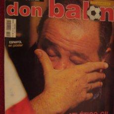 Coleccionismo deportivo: REVISTA DON BALON JESUS GIL PUNTO Y FINAL 2003. Lote 39595865