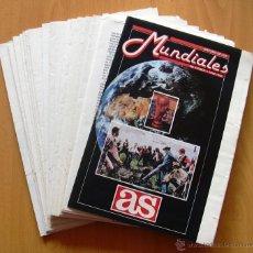 Coleccionismo deportivo: HISTORIA DE LOS MUNDIALES DE FÚTBOL 1930-1990 - PUBLICADA POR EL DIARIO AS. Lote 39672267