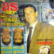 Coleccionismo deportivo: AS COLOR REVISTA CROMOS JUNIO 1991 Nº 278 PARDEZA MIERA ALCAÑIZ CIGANDA RALPH SAMPSON. Lote 39757857