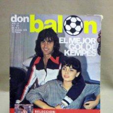 Coleccionismo deportivo: REVISTA DEPORTIVA, FUTBOL, DON BALON, Nº 167, 1978. Lote 40237616