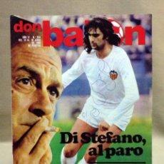 Coleccionismo deportivo: REVISTA DEPORTIVA, FUTBOL, DON BALON, Nº 244, 1980. Lote 40237724