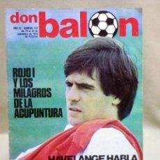Coleccionismo deportivo: REVISTA DEPORTIVA, FUTBOL, DON BALON, Nº 154, 1978. Lote 40237938