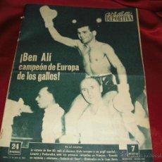 Coleccionismo deportivo: BEN ALÍ, CAMPEON DE EUROPA DE LOS GALLOS. Lote 40015560