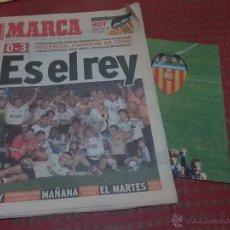 Coleccionismo deportivo: DIARIO MARCA VALENCIA CAMPEON DE COPA 1999 CON POSTER. Lote 40142491