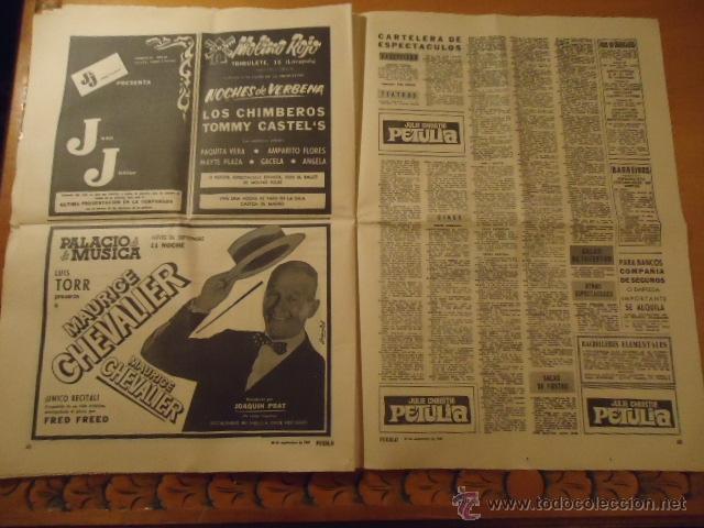 Coleccionismo deportivo: antiguo diario marca - futbol y deportes - año 23 septiembre1968 pueblo extra - REAL MADRID - Foto 2 - 40185492