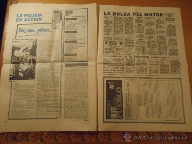 Coleccionismo deportivo: antiguo diario marca - futbol y deportes - año 23 septiembre1968 pueblo extra - REAL MADRID - Foto 3 - 40185492