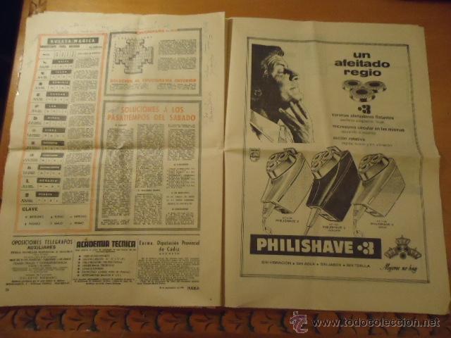 Coleccionismo deportivo: antiguo diario marca - futbol y deportes - año 23 septiembre1968 pueblo extra - REAL MADRID - Foto 4 - 40185492
