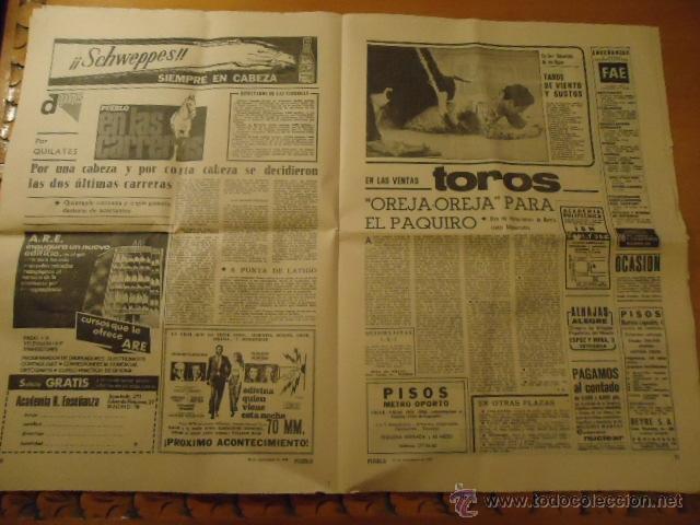 Coleccionismo deportivo: antiguo diario marca - futbol y deportes - año 23 septiembre1968 pueblo extra - REAL MADRID - Foto 6 - 40185492