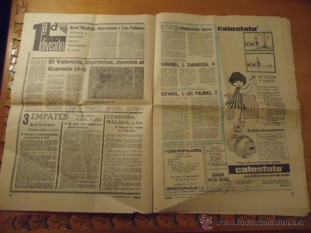 Coleccionismo deportivo: antiguo diario marca - futbol y deportes - año 23 septiembre1968 pueblo extra - REAL MADRID - Foto 10 - 40185492