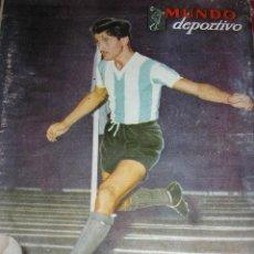 Coleccionismo deportivo: MUNDO DEPORTIVO Nº 310 - AÑO 1955 - ARGENTINA (FÚTBOL, BASQUET, BILLAR, GOLF, BOXEO, ETC). Lote 40190302