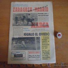 Collectionnisme sportif: ANTIGUO DIARIO MARCA - FUTBOL Y DEPORTES - BOXEO TOROS TENIS - REAL MADRID FC BARCELONA ETC 1972. Lote 40220022