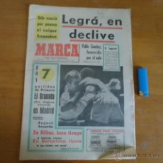 Coleccionismo deportivo: ANTIGUO DIARIO MARCA - FUTBOL Y DEPORTES - BOXEO TOROS TENIS - REAL MADRID FC BARCELONA ETC 1972. Lote 40220372