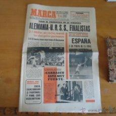 Collectionnisme sportif: ANTIGUO DIARIO MARCA - FUTBOL Y DEPORTES - BOXEO TOROS TENIS - REAL MADRID FC BARCELONA ETC 1958. Lote 40222149