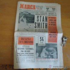 Coleccionismo deportivo: ANTIGUO DIARIO MARCA - FUTBOL Y DEPORTES - BOXEO TOROS TENIS - REAL MADRID FC BARCELONA ETC 1958. Lote 40222289