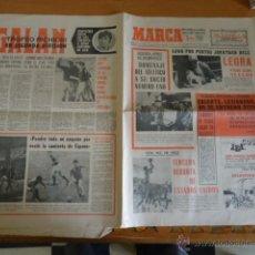 Coleccionismo deportivo: ANTIGUO DIARIO MARCA - FUTBOL Y DEPORTES - BOXEO TOROS TENIS - REAL MADRID FC BARCELONA ETC 1958. Lote 40222387