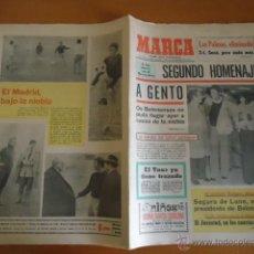 Coleccionismo deportivo: ANTIGUO DIARIO MARCA - FUTBOL Y DEPORTES - BOXEO TOROS TENIS - REAL MADRID FC BARCELONA ETC 1972. Lote 40222530