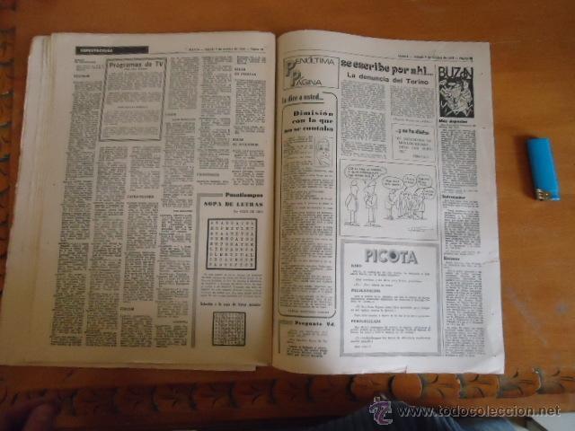 Coleccionismo deportivo: antiguo diario marca - futbol y deportes - boxeo toros tenis - real madrid fc barcelona etc 1972 - Foto 3 - 40220372