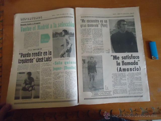 Coleccionismo deportivo: antiguo diario marca - futbol y deportes - boxeo toros tenis - real madrid fc barcelona etc 1972 - Foto 11 - 40220372