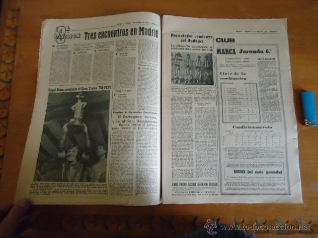 Coleccionismo deportivo: antiguo diario marca - futbol y deportes - boxeo toros tenis - real madrid fc barcelona etc 1972 - Foto 13 - 40220372