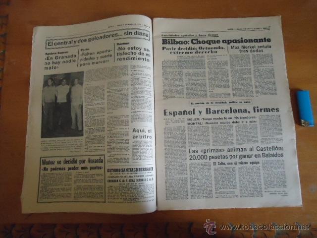 Coleccionismo deportivo: antiguo diario marca - futbol y deportes - boxeo toros tenis - real madrid fc barcelona etc 1972 - Foto 15 - 40220372