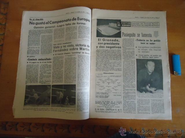 Coleccionismo deportivo: antiguo diario marca - futbol y deportes - boxeo toros tenis - real madrid fc barcelona etc 1972 - Foto 16 - 40220372