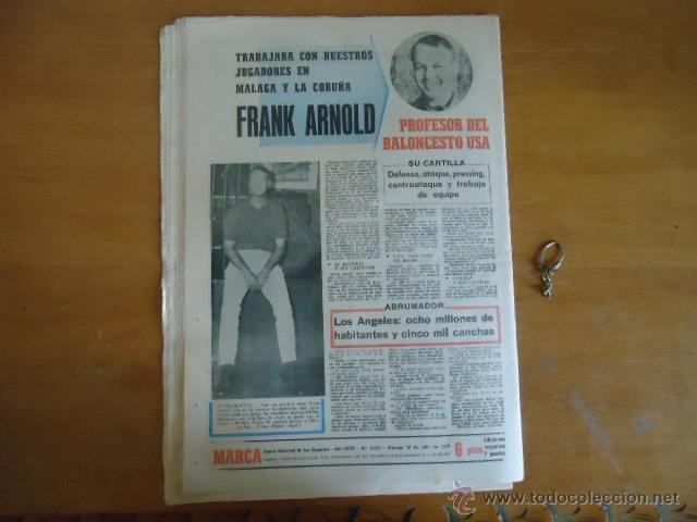 Coleccionismo deportivo: antiguo diario marca - futbol y deportes - boxeo toros tenis - real madrid fc barcelona etc 1978 - Foto 2 - 40220429