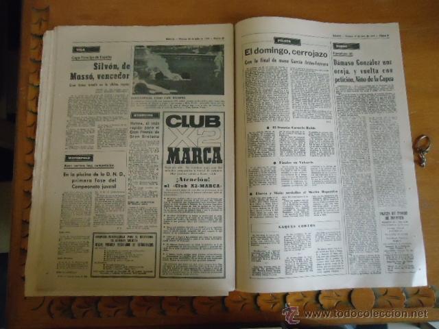 Coleccionismo deportivo: antiguo diario marca - futbol y deportes - boxeo toros tenis - real madrid fc barcelona etc 1978 - Foto 4 - 40220429