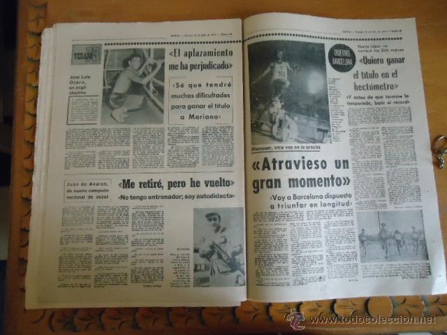 Coleccionismo deportivo: antiguo diario marca - futbol y deportes - boxeo toros tenis - real madrid fc barcelona etc 1978 - Foto 5 - 40220429