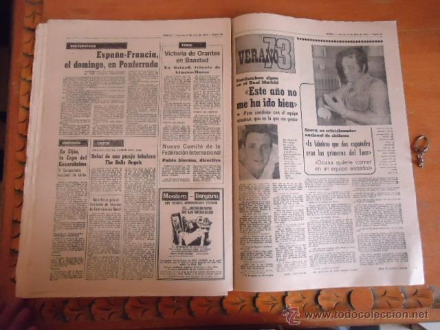 Coleccionismo deportivo: antiguo diario marca - futbol y deportes - boxeo toros tenis - real madrid fc barcelona etc 1978 - Foto 6 - 40220429