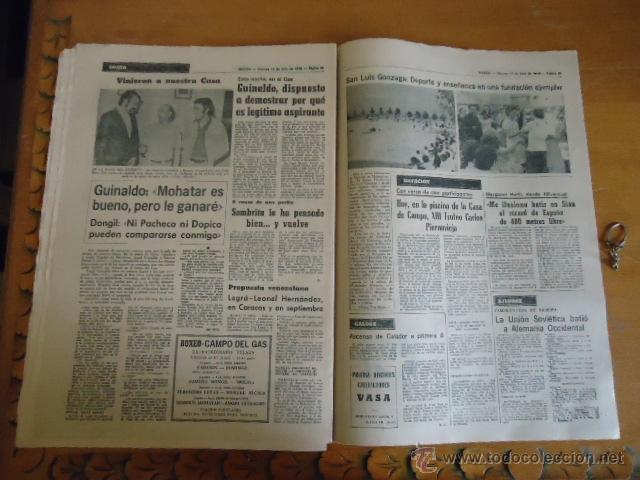 Coleccionismo deportivo: antiguo diario marca - futbol y deportes - boxeo toros tenis - real madrid fc barcelona etc 1978 - Foto 7 - 40220429