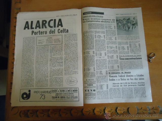 Coleccionismo deportivo: antiguo diario marca - futbol y deportes - boxeo toros tenis - real madrid fc barcelona etc 1978 - Foto 8 - 40220429