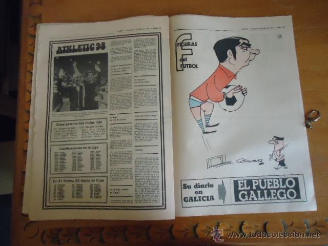 Coleccionismo deportivo: antiguo diario marca - futbol y deportes - boxeo toros tenis - real madrid fc barcelona etc 1978 - Foto 9 - 40220429